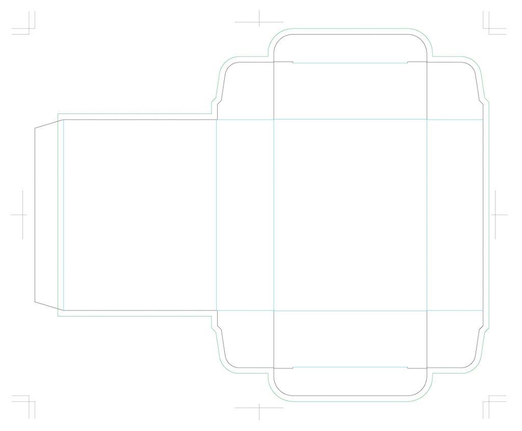 箱 サンプル 展開図