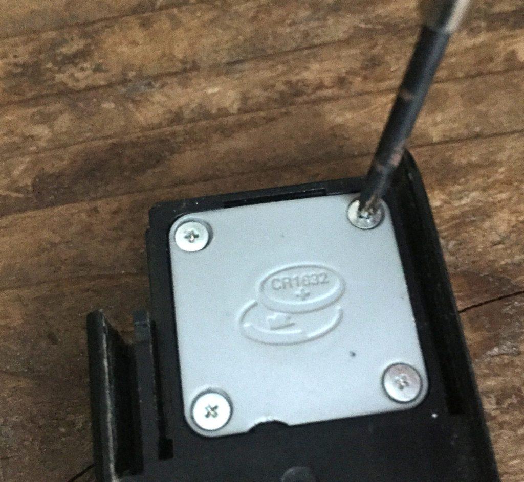 スマートキー 電池カバー